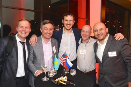 The 9th Annual Welcome Reception Honoring Delegations from Russia,  Kazakhstan and Azerbaijan to OTC 2018