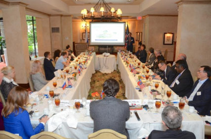 """""""2nd Annual Healthcare Roundtable and Luncheon"""" with the Moscow Healthcare Delegation and Welcome Reception"""