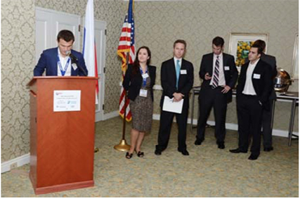 The 2nd Annual Welcome Reception Honoring the Russian Delegation to the Breakbulk Americas 2012