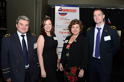 The 4th Annual Welcome Reception Honoring the Russian and CIS Delegations to the Offshore Technology Conference 2013