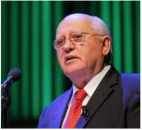 Lecture by the former USSR President Mikhail Gorbachev